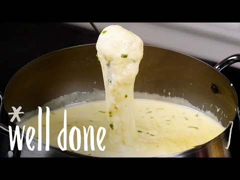 How To Make Beer Cheese Fondue   Recipe   Well Done