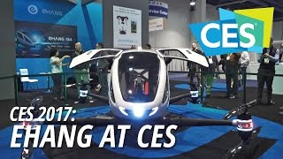 CES 2017: EHANG at CES
