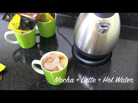 How To Make a Hot Mocha Latte and Iced Mocha Latte Drink with Organo Gold