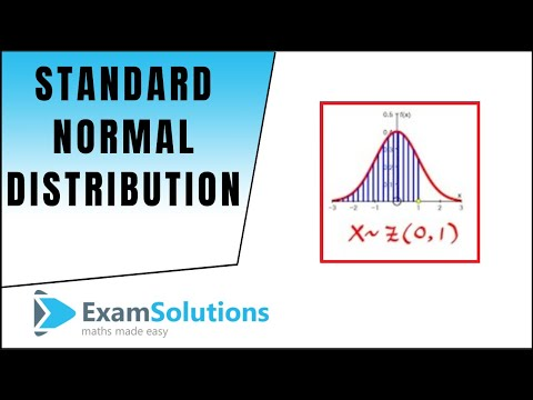 Standard Normal Distribution Z~N(0,1): Calculating Probabilities : ExamSolutions