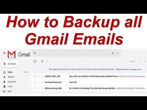 How to Backup all Gmail Emails | Save all Gmail Data on Computer