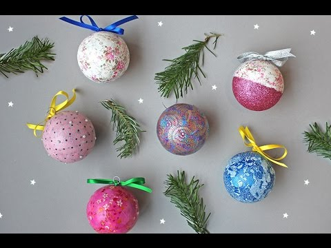 How to Make Your Own Christmas Decorations