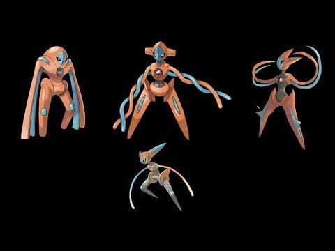 Pokémon X & Y - Comment changer la forme de Deoxys