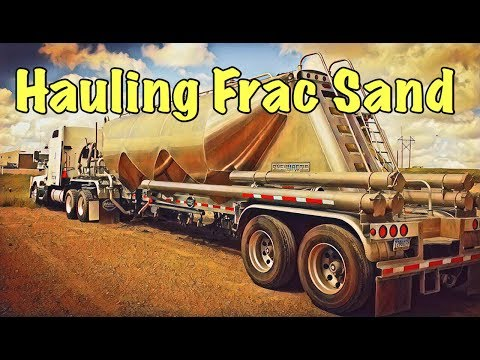 VLOG # 30 Owner Operator Hauling Frac Sand