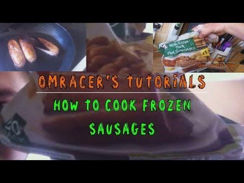 omracer's Tutorials: How to Cook Frozen Sausages