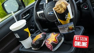 As Seen Online - Funny Fast Food Car Products TESTED!