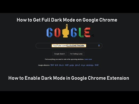 How to Enable Dark Mode in Google Chrome Extension