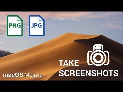 How to take a Screenshot on macOS Mojave