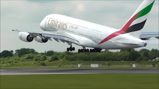 Download Manchester Airport Close Up Afternoon Take Off's | 23/06/15