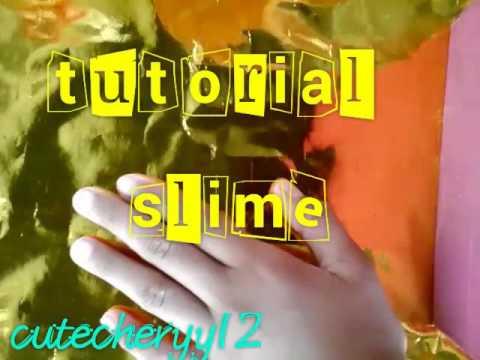 How to make ori slime (BAHSA INDONESIA)
