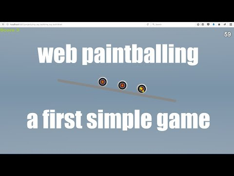 3D Paintball Games That Play on the Internet Using Free Software Part 2 Making a Simple Game