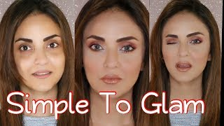Nadia Khan Without Makeup! OMG! Everyday Party Makeup Tutorial Using Magic Glitter Drops