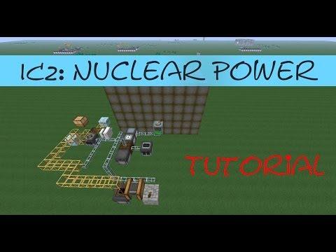 Minecraft Tutorial: Easy Nuclear Reactor / Power [IC2] [English]