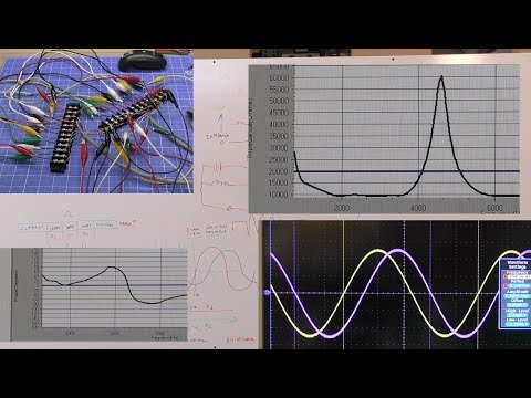 JWN 19 / TSFA 22: Understanding Capacitance In a Bifilar Coil. Measuring Xc, Xl, Z, Phase Shift.