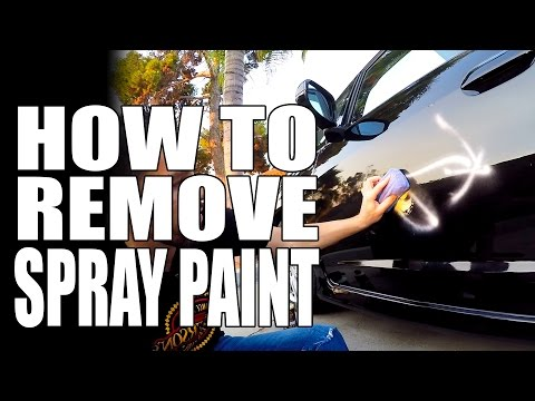 How To Remove Spray Paint & Graffiti - Masterson's Car Care - Tips & Tricks