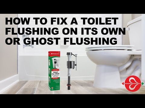How to fix ghost flushing of your toilet
