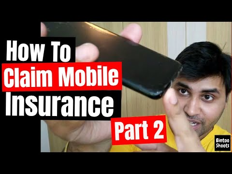 How to Claim Phone/Mobile Insurance in India for Accidental Damage Part - 2 | Hindi | BintooShoots