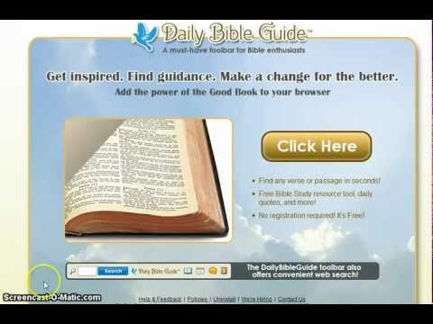 Bible Online | Free Bible Toolbar Download