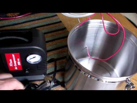 Making a Cheap Vacuum Pump
