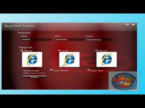How To: Create a Windows 7 Start orb