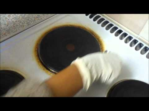 How to clean your electric stove...wmv
