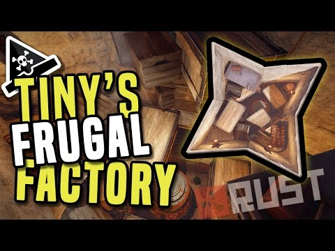TINY'S FRUGAL FACTORY - A solo/duo Rust Base Build Guide - Frugal Factory, ultimate resource base