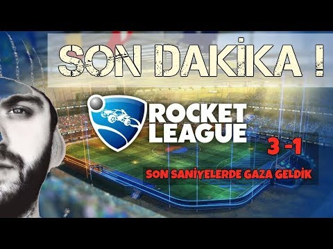 Rocket League : Türkçe - Son Dakika !