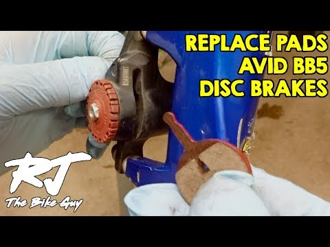 How To Replace Avid BB5 Disc Brake Pads - Easy!