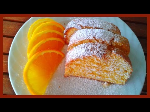 How to Make Orange Cake with Whole Orange | Orange Cake Recipe