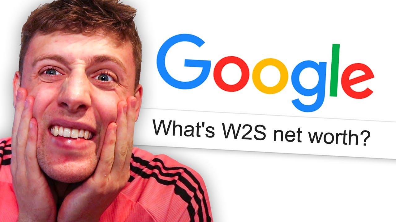 GOOGLING MYSELF (W2S Net Worth Reveal)