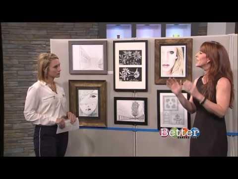 TAM STONE shares Designer Tricks for Hanging Artwork in Your Home (BETTER KC SHOW)