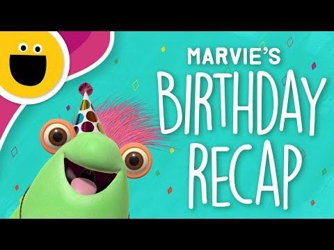 Marvie's Birthday Party Recap (Sesame Studios)