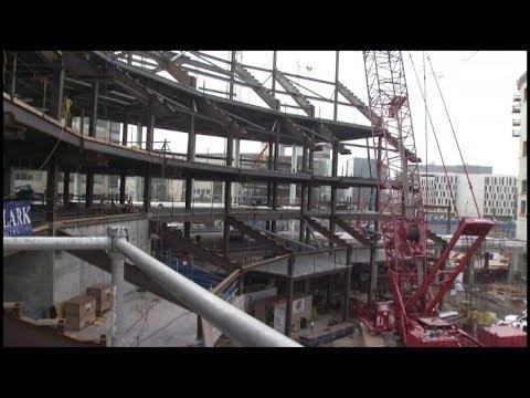 Construction on Warriors San Francisco arena hits milestone