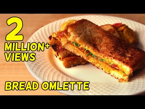 How to make Bread Omelette/lunch box