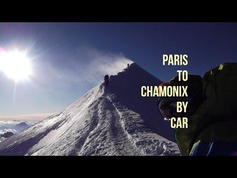 Drive From Paris to Mont-Blanc, Chamonix