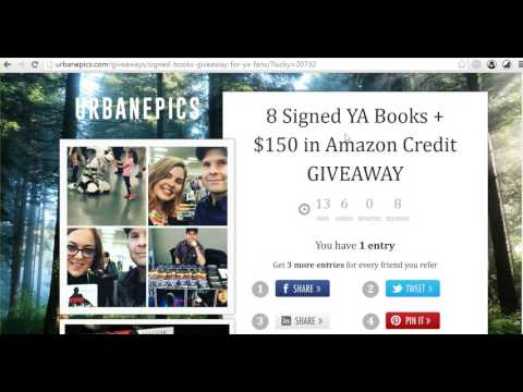 How to use KingSumo to run book giveaways and grow your email list to 10K quickly