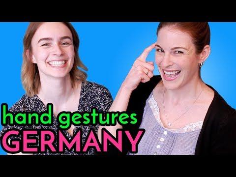 GERMAN HAND GESTURES with Elisa (Die Frickelbude)