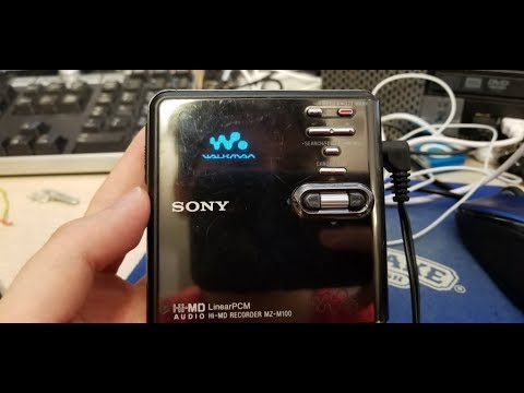 Sony MZ-RH10 Hi-MD Minidisc Recorder OLED Screen Replacement