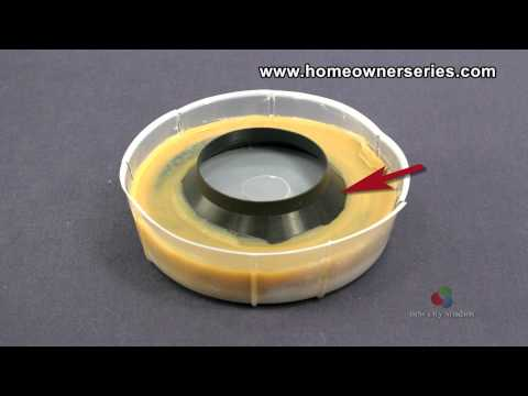How to Fix a Toilet - Parts - Wax Ring