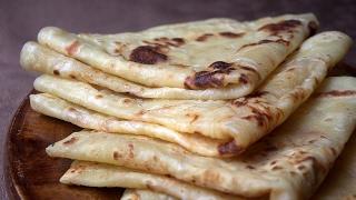 Recette Ramadan وصفات رمضان /msemen Au Fromage Façon Cheese Naan / Algerian Pancake