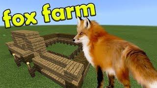 Fox Farm | Minecraft PE