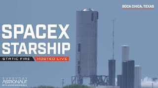 [May 18][NOTHING HAPPENED DON'T WATCH!!!] Let's watch SpaceX static fire Starship SN-4!