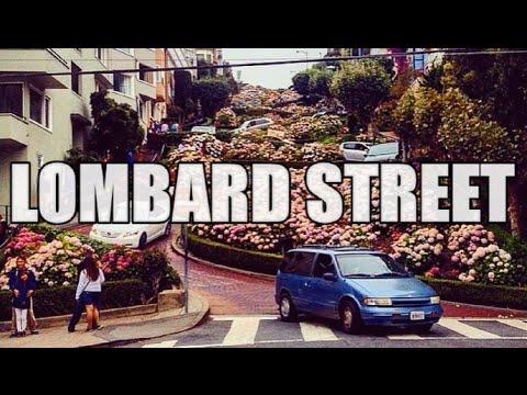 LOMBARD STREET IN SAN FRAN | California