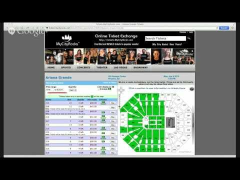 Ariana Grande Tickets Phoenix AZ US Airways Center Concert Live