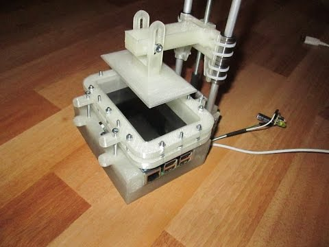 LCD 3D Printer v1