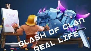 Clash of Clans In Real Life