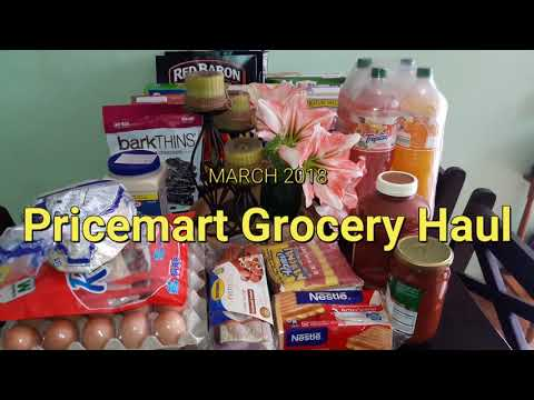 Large Family Monthly Grocery Hauls: Pricesmart, Walmart, AM
