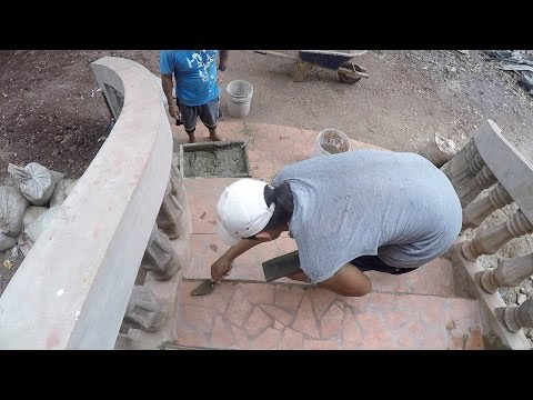 FINISHING TOUCHES - BUILDING A CONCRETE BLOCK HOUSE