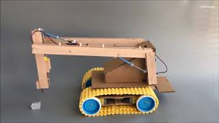DIY Hydraulic Hammer on the basis of the Excavator