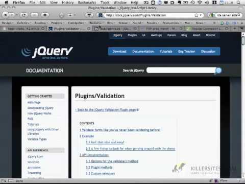 PHP &  Javascript - Form Validation part 1